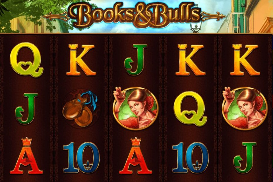Books and Bulls Spielautomaten