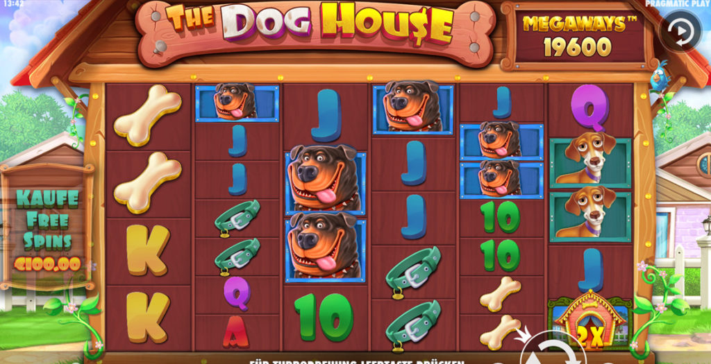 Dog House Megaways Slot